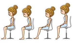 美しいお尻を作るために正しい座り方を知ろう
